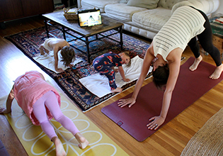 Yoga Online with Kids + Postpartum Recovery